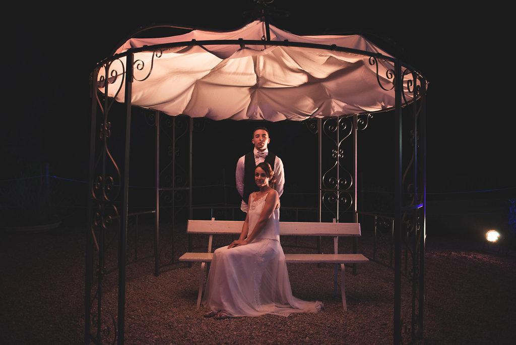 RETRO CHIC WEDDING • Laura et Geoffrey